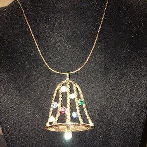 Jewelry - Multi Color Bell Pendant